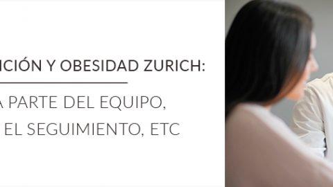 La unidad de nutrición y obesidad de Zurich. Quién forma parte del equipo, quién te hará el seguimiento, etc.