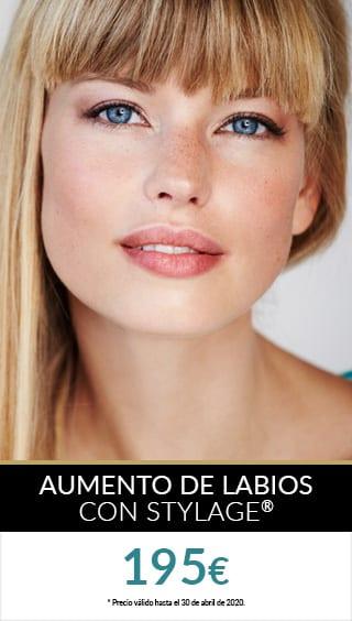 aumento de labios stylage promo zurich marzo abril PROMOS