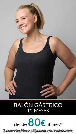 balon gastrico 12meses promo zurich mayo Promos Nutrición Obesidad