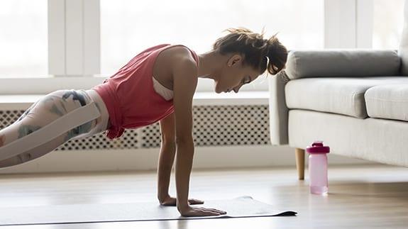 entrenar en casa ¿Qué cosas productivas puedes hacer durante la cuarentena?