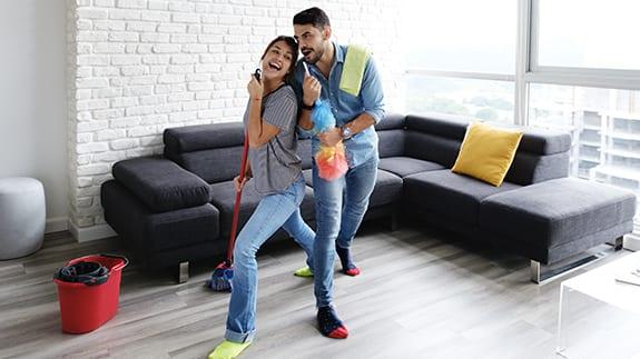 limpia en casa ¿Qué cosas productivas puedes hacer durante la cuarentena?