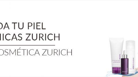 Cuida tu piel en Clínicas Zurich. Línea de cosmética Zurich