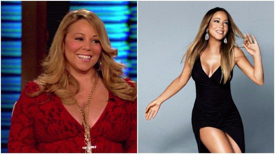 pérdida de peso mediante cirugía bariátrica de Mariah Carey