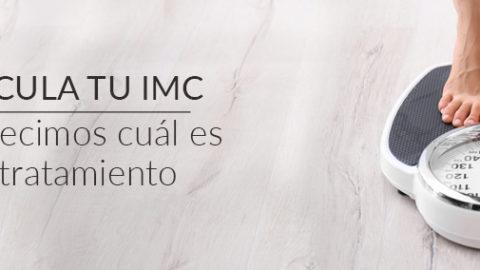 Calcula tu IMC y te decimos cuál es tu tratamiento