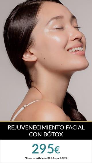 rejuvenecimiento facial botox promo zurich enero febrero PROMOS