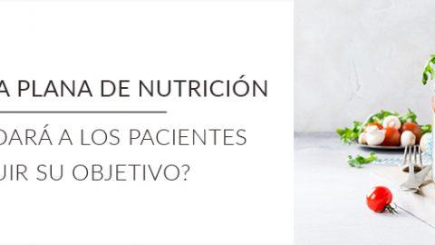 ¿Qué es la tarifa plana de nutrición y por qué ayudará a los pacientes a conseguir su objetivo?